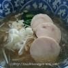 ソイドル「大豆100%麺」で塩ラーメン